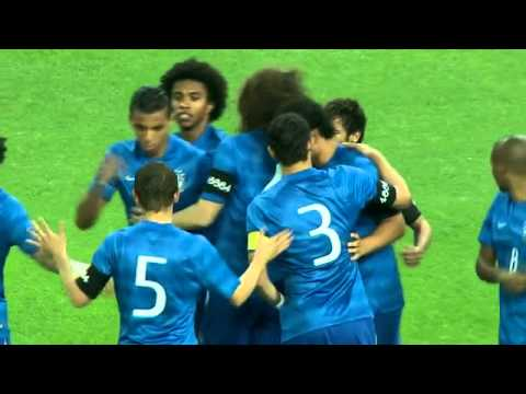 Neymar Amazing Goal! South Africa Vs Brazil 0-5 Friendly 2014