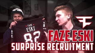 SURPRISE FaZe Recruitment How Eskee Joined FaZe!