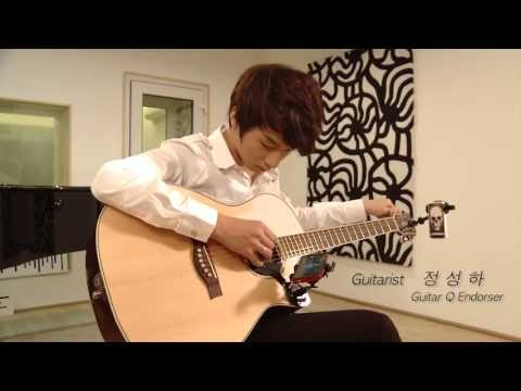 sungha Jung guitar playing with guitarQ