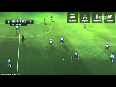 Itália 5-3 Fluminense (Drible do Diguinho no Pirlo)