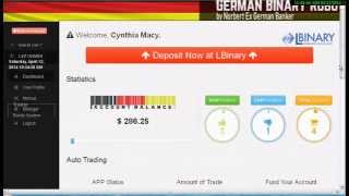 German Binary Robot Review Binary Trading !!Binary