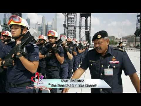 NDP 2012 Our Trainers - The Men Behind The Scene