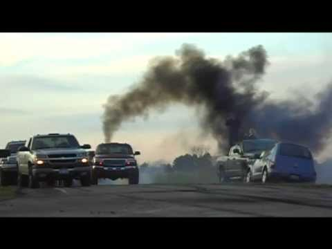 London Diesel Convoy Burnouts