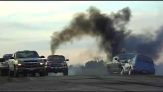 Diesel Convoy Burnouts
