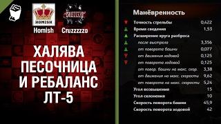 Халява, Песочница и Ребаланс ЛТ-5 - Танконовости №85 - Будь готов!