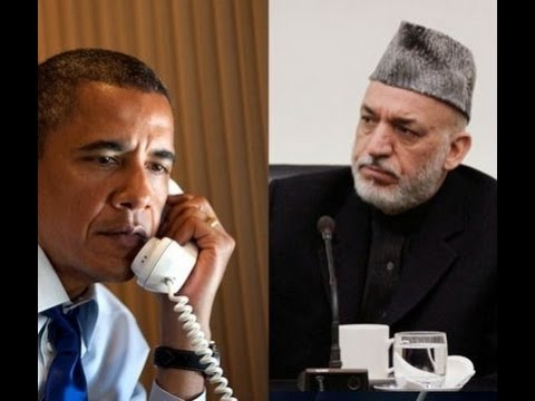 Karzai Refused to Meet Obama At Bagram Airbase on The US AMB Invitations!!