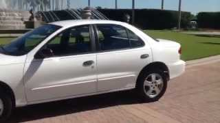 2002 chevrolet cavalier test drive 29k low miles starting u