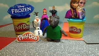 Play Doh Disney Frozen How To Make The Trolls From Play