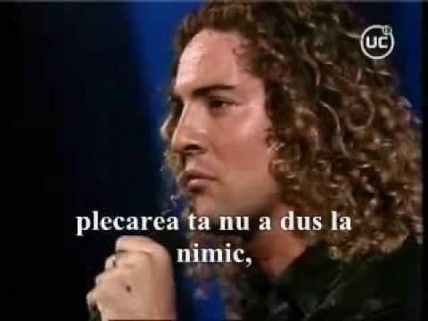 David Bisbal - Esta ausencia(subtitrare în limba română)