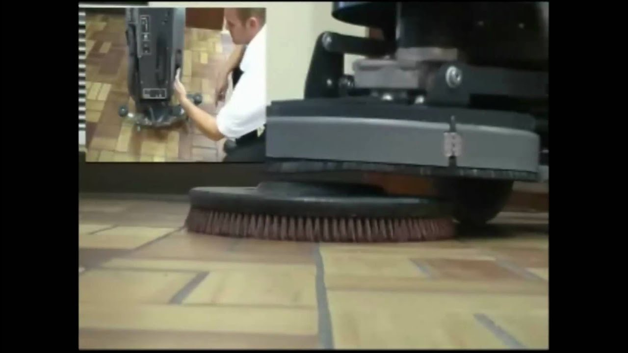 Floor scrubber floor scrubber youtube for Floor operator