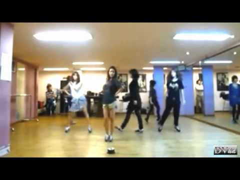 T-ara - Why Are You Being Like This (dance practice) DVhd