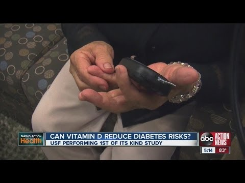 Research to study if vitamin D can combat diabetes