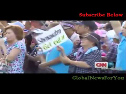 กำนันสุเทพ Thailand Protests Prime Minister Interview on protests