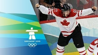 Canada Win Ice Hockey Gold V USA Highlights Vancouver