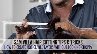 How To Cut Layers Without Making Them Look Choppy