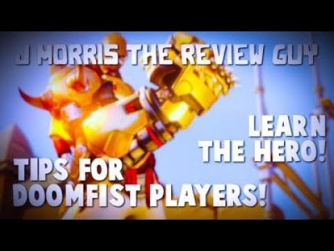 Tips for Doomfist Players! // Learn the Hero! (Overwatch Guide #6)