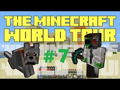 The Minecraft World Tour - #7: Dragon Balls [Dragon Eggs Can Teleport