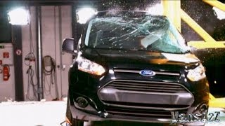 New Ford Transit Connect 2013 Euro NCAP 5-Star Crash