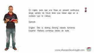 Curso Aprender Ingles Futuro Presente Continuo Future