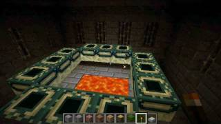 Minecraft Stronghold Seed IN/NEAR Spawn [With End