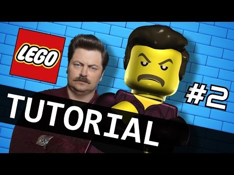 Watch Me Animate LEGO Ron Swanson - Tutorial Part 2/2