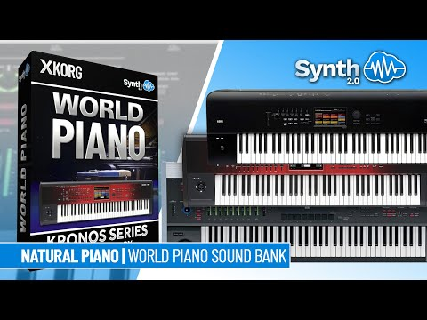 SSX-002 R-Piano Collection - Korg Oasys / Kronos / X / 2 ( Synthcloud )