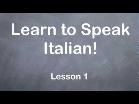 Basic Italian Phrases | Language for Travelers | Fodor's ...