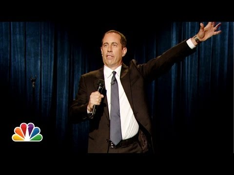 Jerry Seinfeld Performs Stand-Up on Late Night With Jimmy Fallon