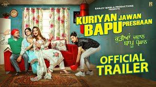 Kuriyan Jawan Bapu Preshaan 2021 Movie Trailer Video HD Download New Video HD