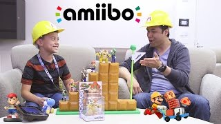 amiibo TIME!!! ft. Super Mario Maker, Yoshi's Woolly World & Mario Tennis Super Smash