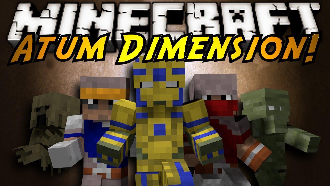 Minecraft mod showcase atum dimension youtube