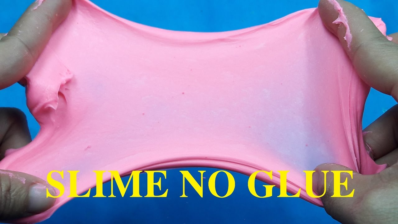 Diy Slime Without Glue , No Glue, No Borax How To Make Slime Without Glue
