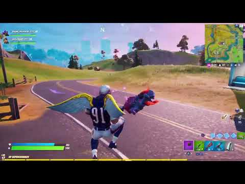 [Fortnite - #claudio1908] Best Kill with 'SMG' (October 2019)