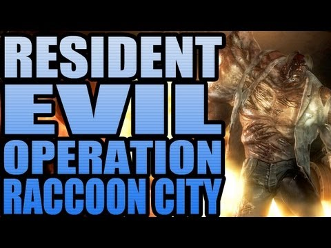 Run away!!! - Resident Evil: Operation Raccoon City Gameplay