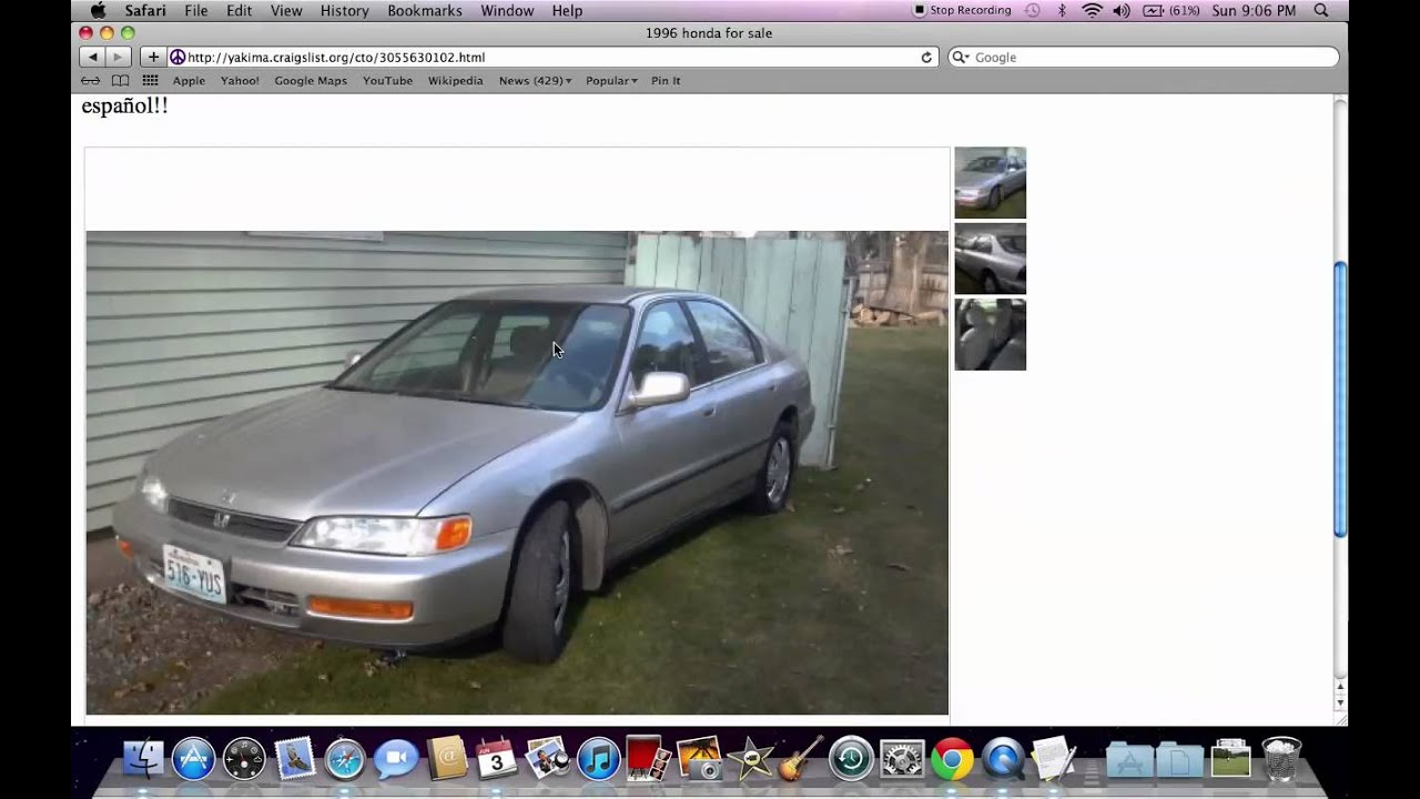 Craigslist In Yakima Cars Autos Post