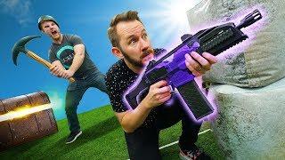 NERF Fortnite Battle Royale Challenge!