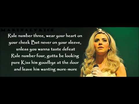 Marina and the Diamonds- How to be a heartbreaker Lyrics ...