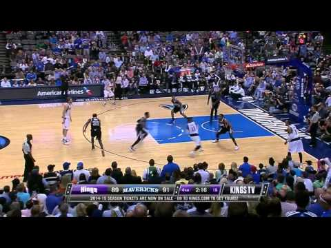 Sacramento Kings vs Dallas Mavericks | March 29, 2014 | NBA 2013-14 Season