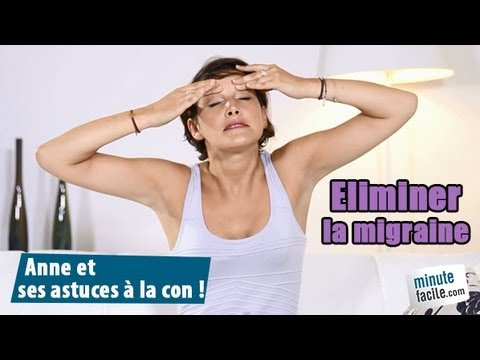 Santé : Comment faire disparaître une migraine sans médicament ?