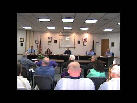 Rouses Point Village Board Meeting  5-7-12