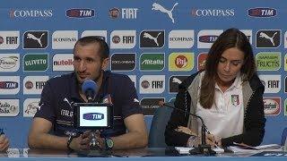 """Chiellini: """"Italia più forte di quanto sembri"""" - Mondiali 2014"""
