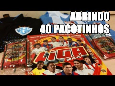 Vídeo 21 - LIGA ESPANHOLA , Abrindo 40 pacotinhos