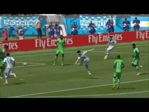 Nigeria v Argentina World Cup 2014 25/06/2014