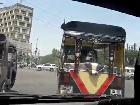 Karachi Traffic City Tour