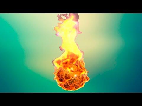 Как сделать огненный шар