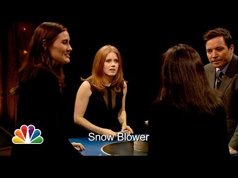 Catchphrase with Amy Adams