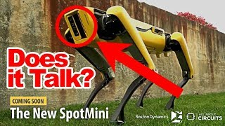 BostonDynamics SpotMini features the upcoming new model 2018