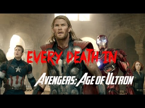 EVERY DEATH IN #37 Avengers: Age of Ultron (2015)