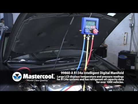 99860-A R-134a Intelligent Digital Manifold