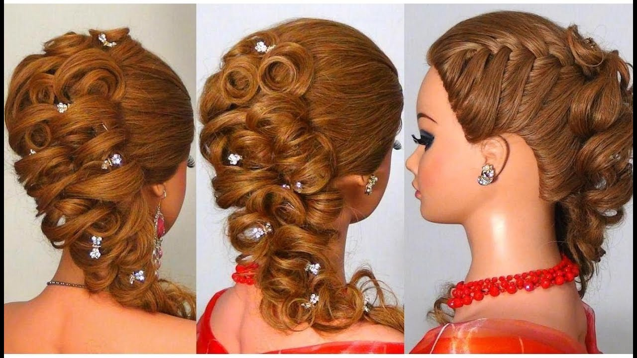 Прически с плетением косичек на длинные волосы
